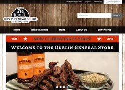 dublin store ecommerce website