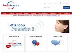 loop america ecommerce website