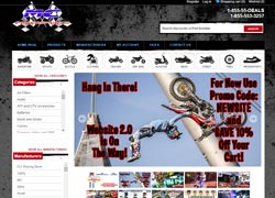 mc powersports ecommerce website