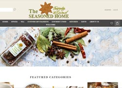 the seasoned home ecommerce website
